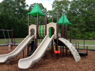 Atlanta community playground and surfacing installation
