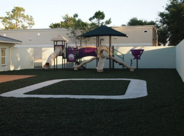 Bonita Springs colorful playground and surfacing