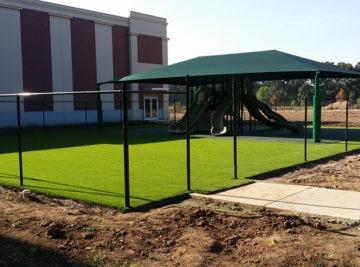 Charter school playground install