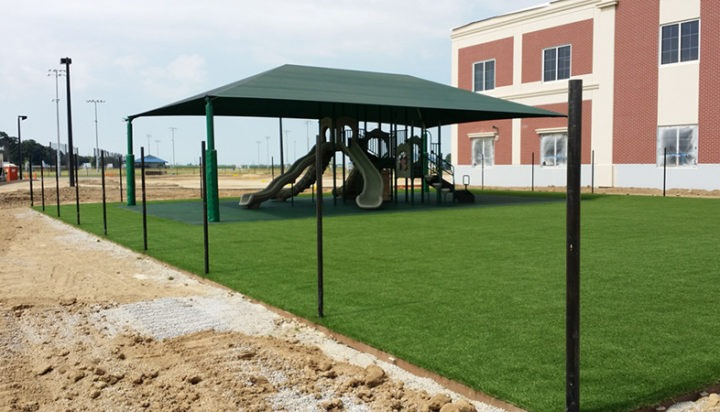 Commercial Playground Equipment Poured in Place Rubber Shade Structure 3
