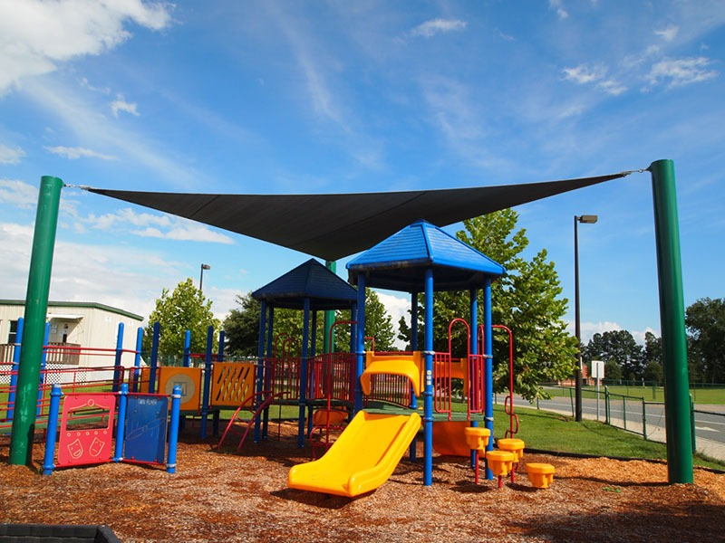 Elementary School Playground Sail Shade Structures 31