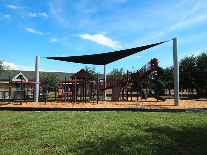Elementary School Playground Sail Shade Structures 5