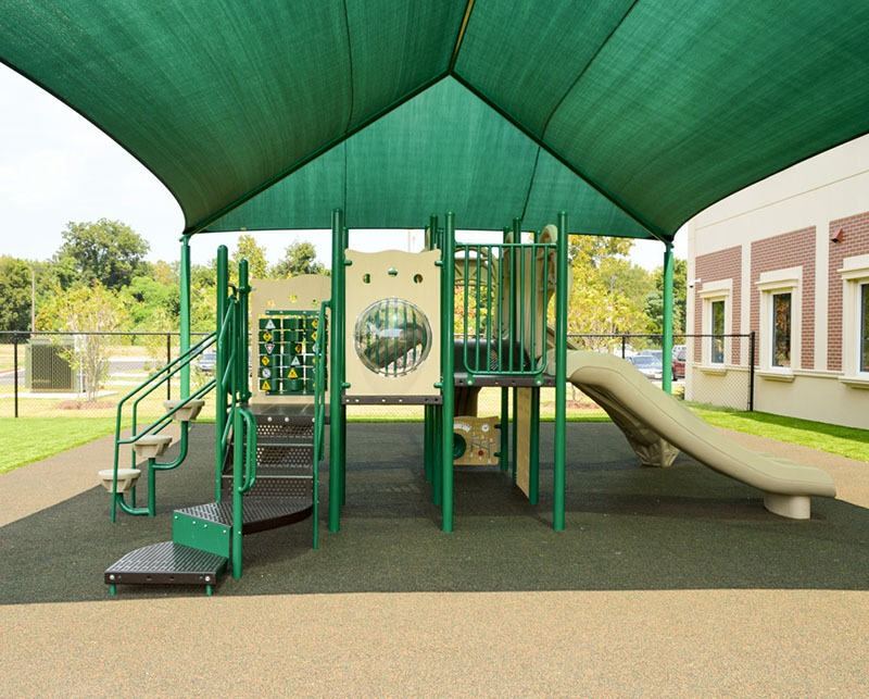 Florida-Charter-School-Playground-Equipment-Shade-Structure-Rubber-Surfacing (2)