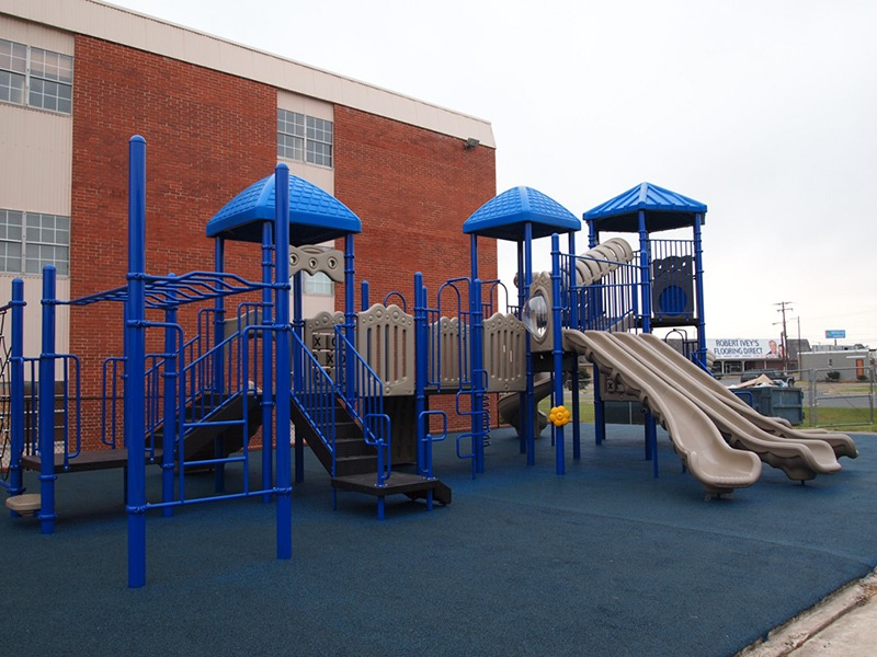 Florida-Church-Double-Decker-Commercial-Playground-Equipment-Rubber-Surfacing (11)