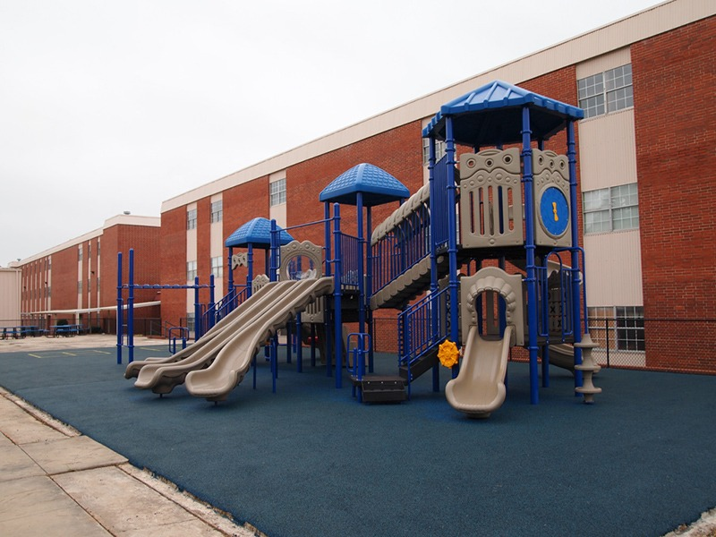 Florida-Church-Double-Decker-Commercial-Playground-Equipment-Rubber-Surfacing (17)