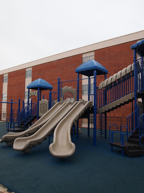 Florida-Church-Double-Decker-Commercial-Playground-Equipment-Rubber-Surfacing (7)