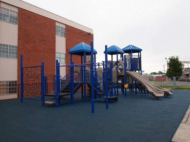 Florida-Church-Double-Decker-Commercial-Playground-Equipment-Rubber-Surfacing (8)