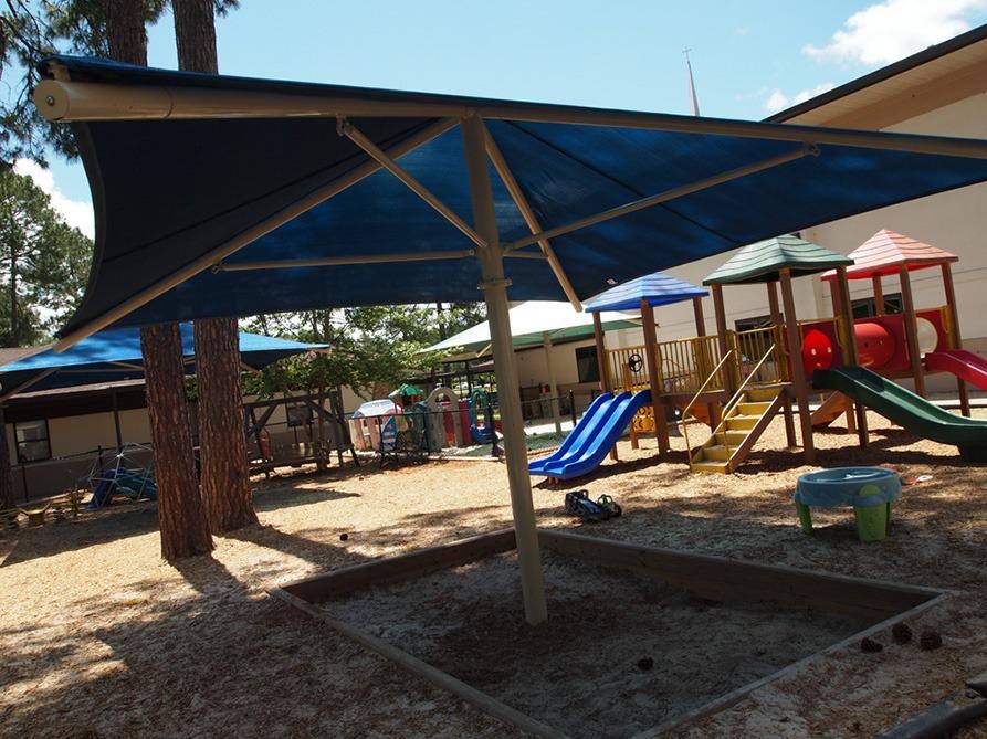 Florida Church Playground Shade Structures 10