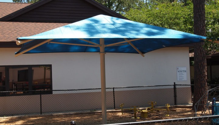 Florida Church Playground Shade Structures 3