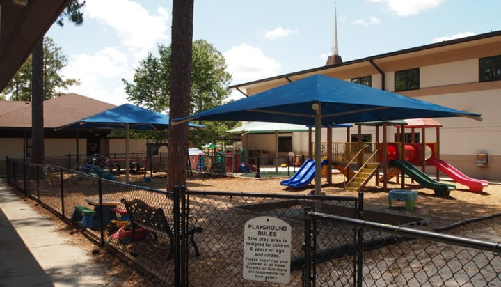 Florida Church Playground Shade Structures 9