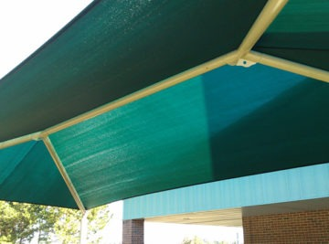 Custom shade structure