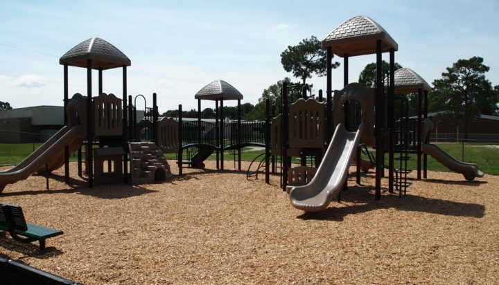 Florida Elementary School Commercial Playground Equipment 18