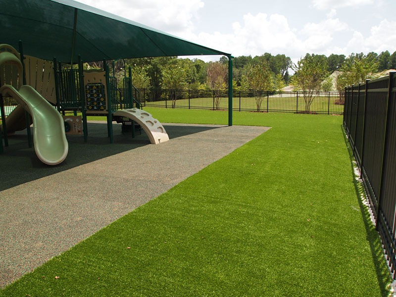 Florida Elementary School Playground Artificial Turf 15