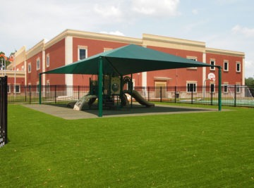 Florida Elementary School Playground Artificial Turf 53
