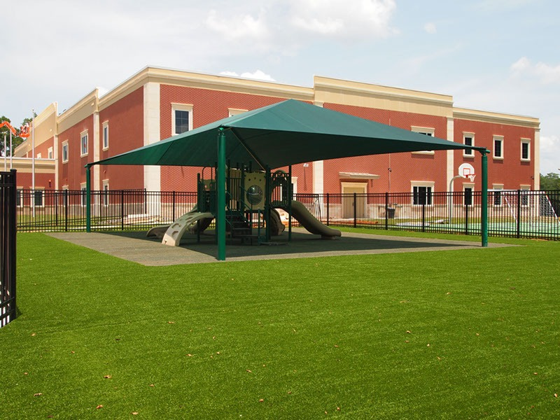 Florida Elementary School Playground Artificial Turf 53