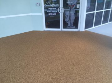 Fort Myers Florida Poured In Place Rubber Surfacing Entrance 1