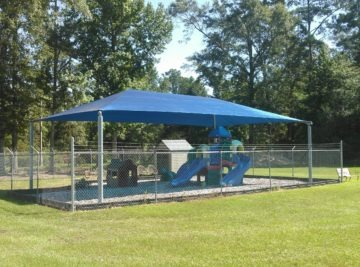 Georgia commercial shade structure