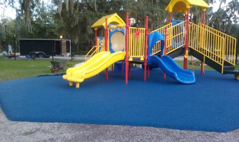 Lithia Florida Poured in Place Rubber Playground Surfacing 11