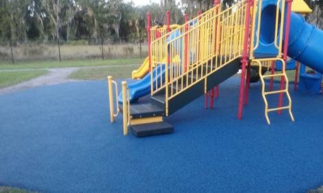 Lithia Florida Poured in Place Rubber Playground Surfacing 13