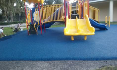Lithia Florida Poured in Place Rubber Playground Surfacing 3
