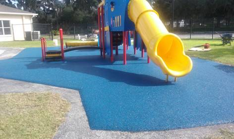 Lithia Florida Poured in Place Rubber Playground Surfacing 5