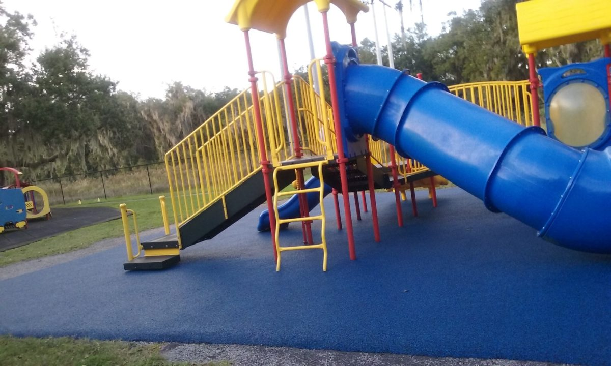 Lithia Florida Poured in Place Rubber Playground Surfacing 8