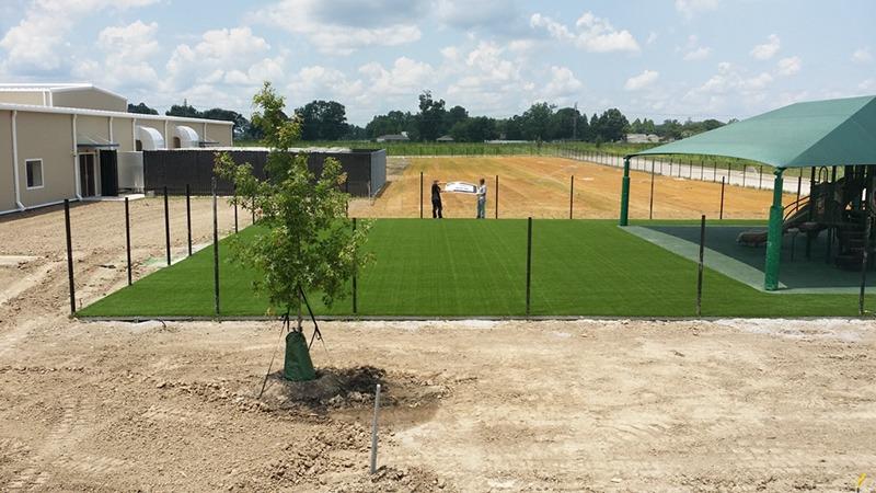 Louisiana Charter School Playground Shades 1