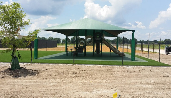 Louisiana Charter School Playground Shades 3