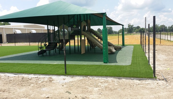 Louisiana Charter School Playground Shades 4