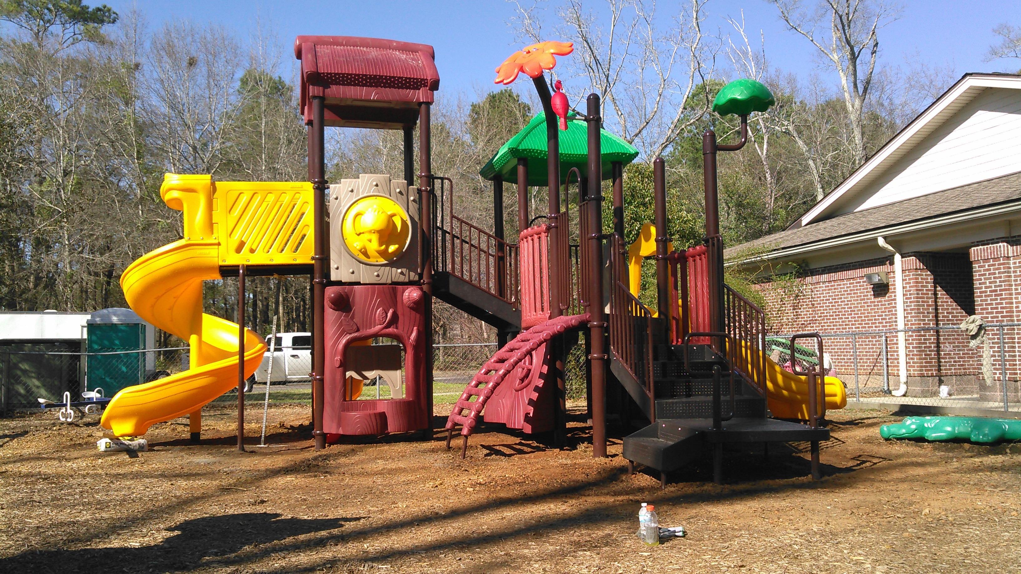Mobile Alabama Childcare Center Playground Equipment Pro