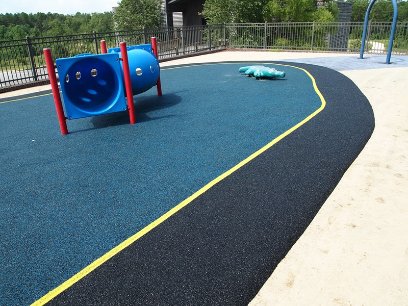 Mobile Alabama Playground Surfacing Poured In Place Rubber 1
