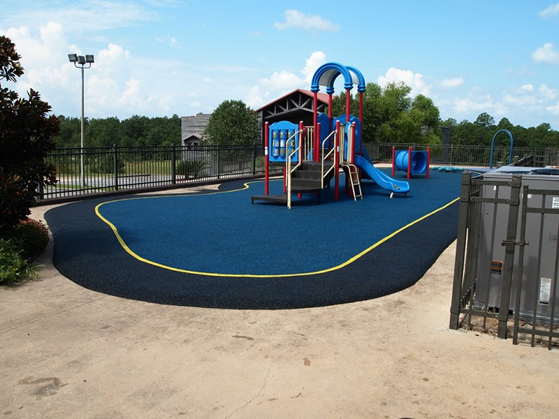 Mobile Alabama Playground Surfacing Poured In Place Rubber 2