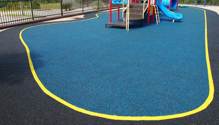 Mobile Alabama Playground Surfacing Poured In Place Rubber 4