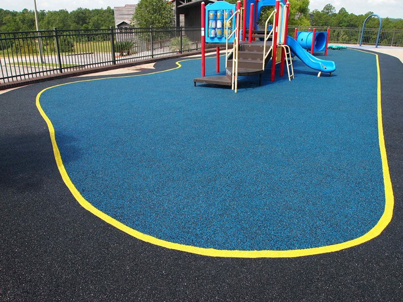 Poured Rubber Outdoor Playground Flooring Gurus Floor