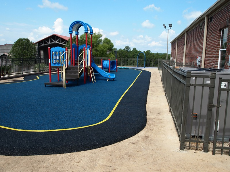 Mobile Alabama Playground Surfacing Poured In Place Rubber 5