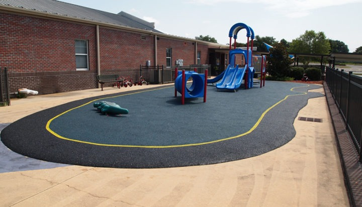 Mobile Alabama Playground Surfacing Poured In Place Rubber 8