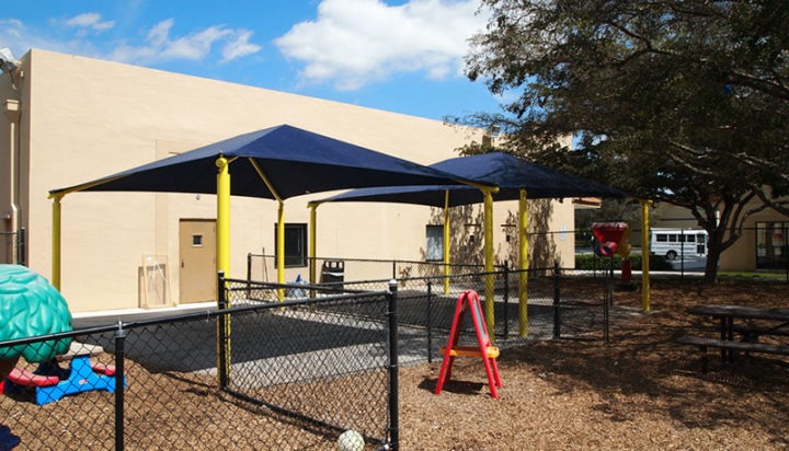 South Florida Daycare Shade Structures 2