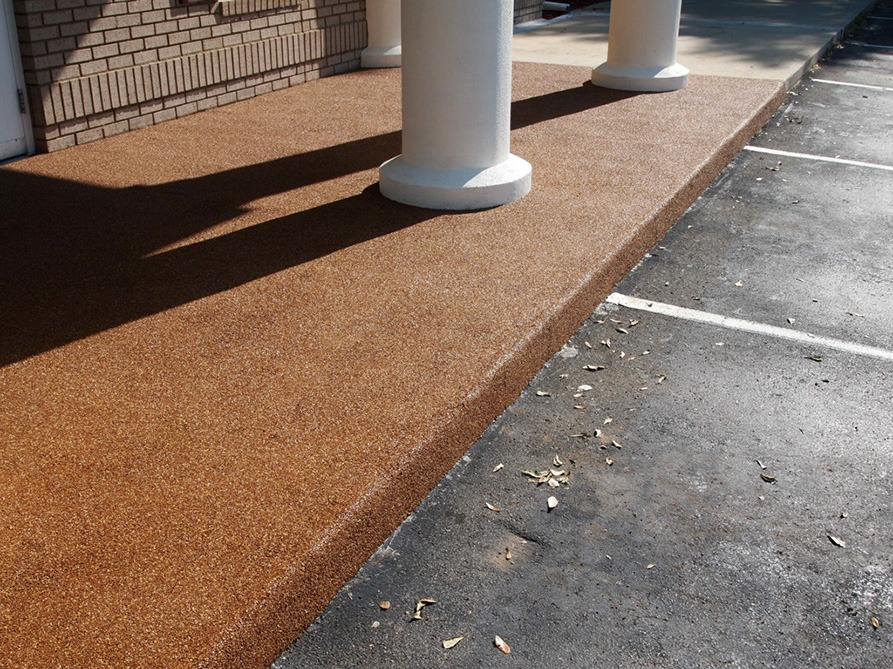 Tallahassee-Florida-Poured-In-Place-Rubber-Entrance-at-Daycare (1)