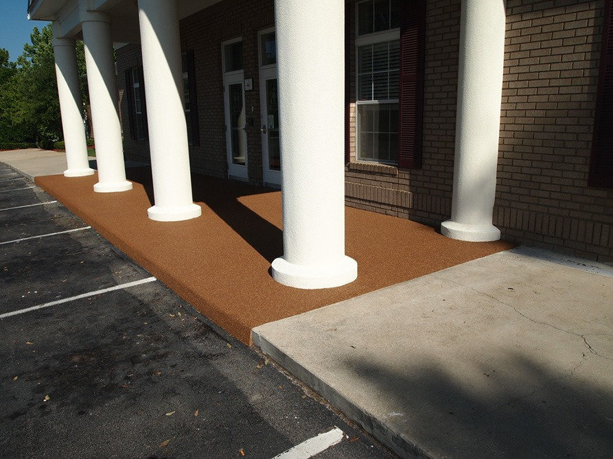 Tallahassee-Florida-Poured-In-Place-Rubber-Entrance-at-Daycare (11)