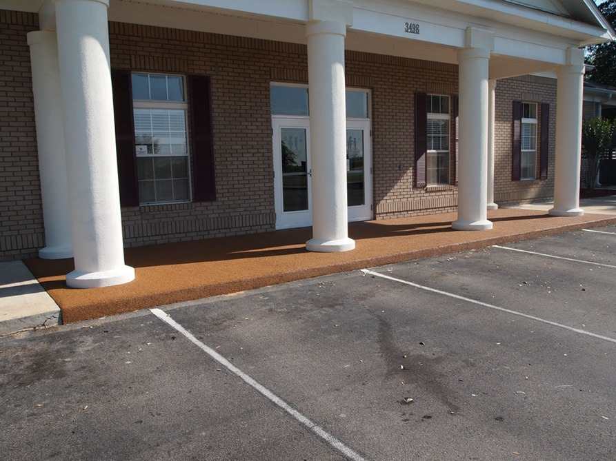 Tallahassee-Florida-Poured-In-Place-Rubber-Entrance-at-Daycare (12)