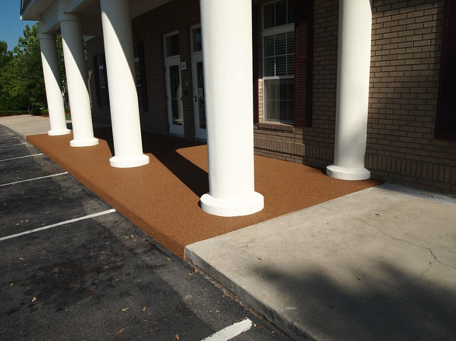 Tallahassee-Florida-Poured-In-Place-Rubber-Entrance-at-Daycare (2)