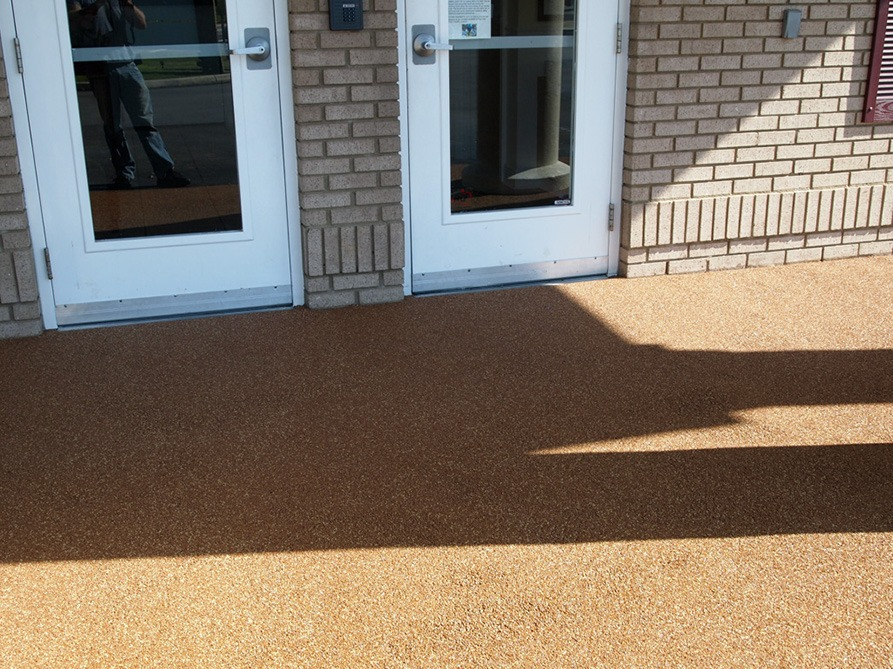 Tallahassee-Florida-Poured-In-Place-Rubber-Entrance-at-Daycare (6)