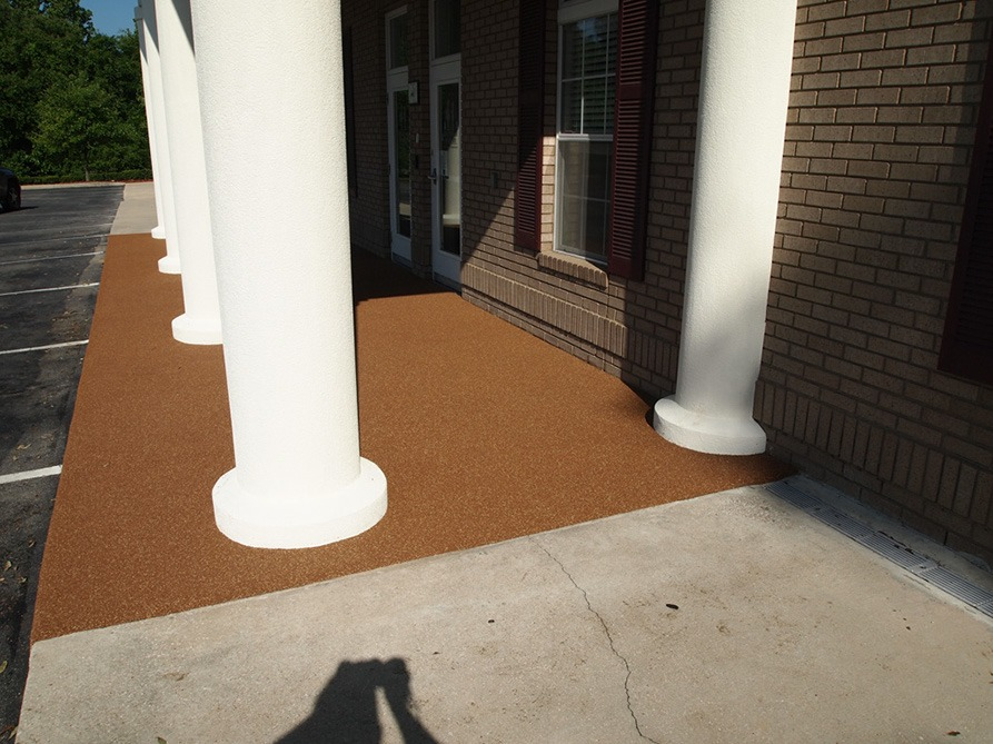 Tallahassee-Florida-Poured-In-Place-Rubber-Entrance-at-Daycare (8)