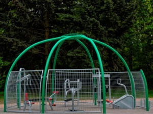 outdoor gyms and fitness equipment area design and installation services