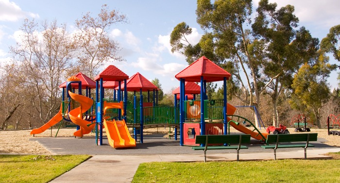 Outdoor commercial playground relocation services.