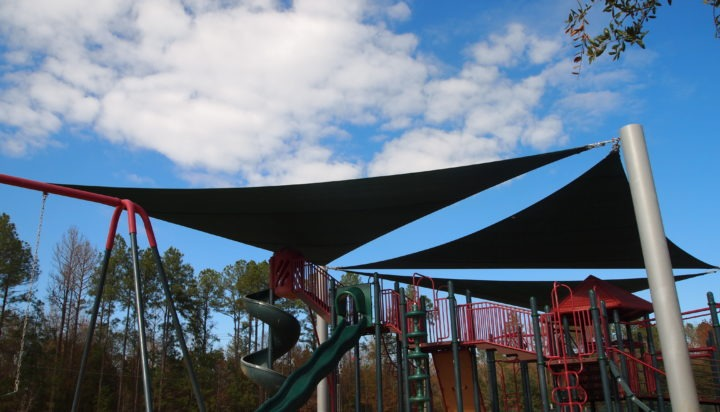 Tallahassee custom playground sail shade structures 10