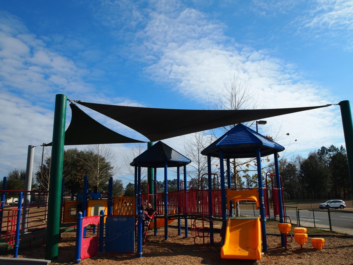 Tallahassee custom playground sail shade structures 11