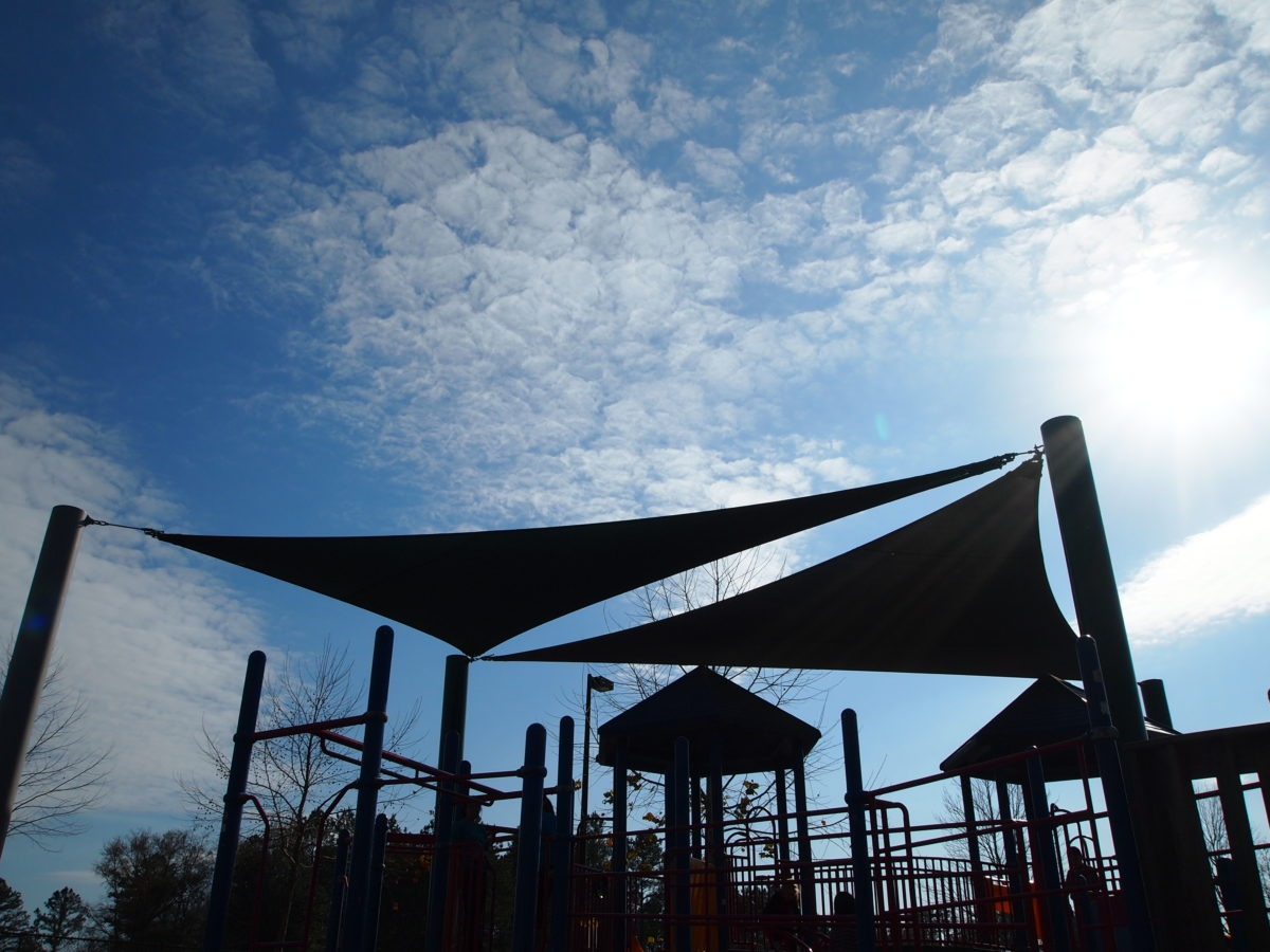 Tallahassee custom playground sail shade structures 12