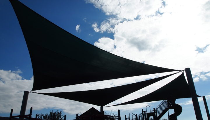 Tallahassee custom playground sail shade structures 2