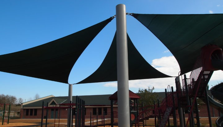 Tallahassee custom playground sail shade structures 4
